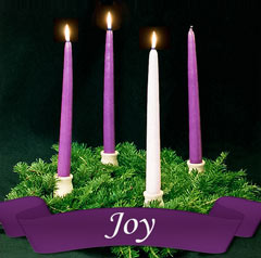 Week three of Advent: Joy