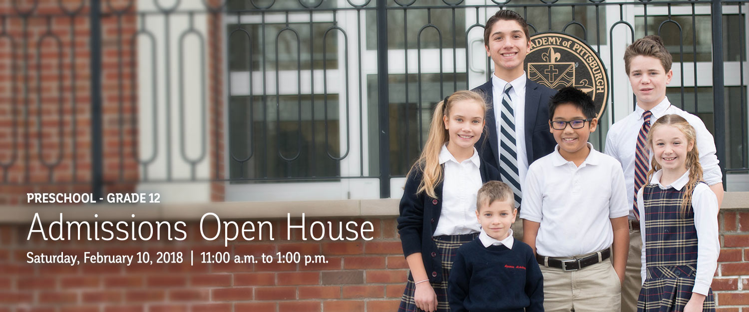 PreK - 12 Admissions Open House | February 10 | 11am-1pm