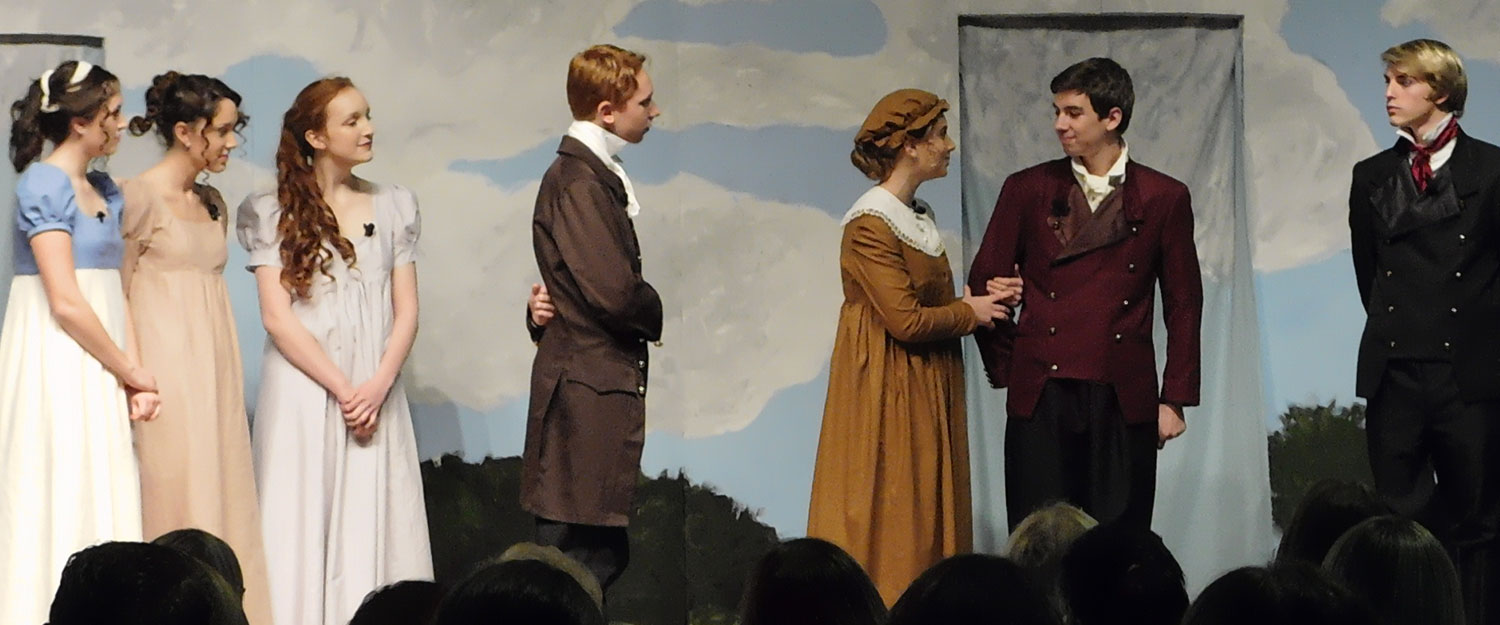 High School Play: Pride and Prejudice